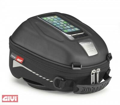 BMW 310 Gs from Yr 17 Givi st 602 Motorcycle Tank Bag Set with Ring 4L New