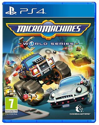 Micro Machines: World Series PS4 New and Sealed