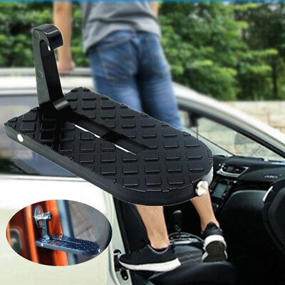 Car Rooftop ladder Tool Doorstep Rooftop Latch Hooked Foot Pegs Safety Hammer