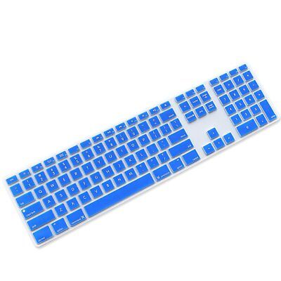 ProElife Silicone Full Size Ultra Thin Keyboard Cover Skin for Apple iMac with