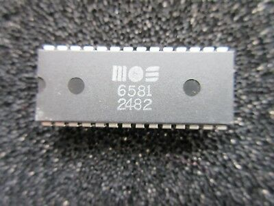 Commodore 64 Sid Chip - 6581 R2 - SILVER LABEL - TESTED - Free UK P&P - 2482