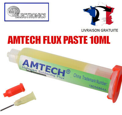 Flux Soudure Amtech / Flux à Souder PCB BGA PGA 10ml  NC-559-ASM