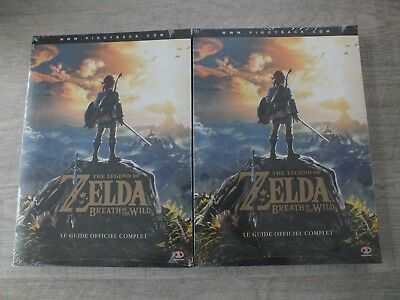Guide jeux Zelda breath of the wild , neuf sous blister , rare