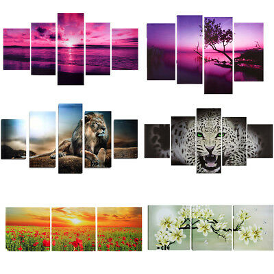 23 Type Art Modern Abstract Painting Canvas Picture Print Wall Hangings Decor