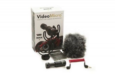 Rode VideoMicro Compact On-Camera Microphone (NEW)