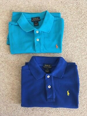 Ralph Lauren Boys Polo Shirts  Size 6 Years