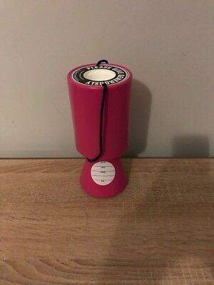 Pink Handheld Charity Donation Collection Money Boxes X1