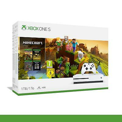 Pack console Xbox One S (1 To) + Minecraft