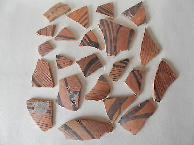 Neolithic Pottery Shards #15. Ukrainian artifacts.