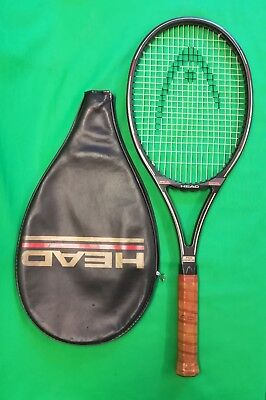 Very rare HEAD SPECIAL EDITION PRO Mid Plus tennis racket and cover  L4