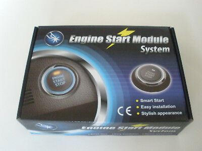 Motor Start / Stop - Schalter Komplettsatz - Engine Start Button, Neu + OVP
