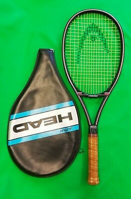 Rare HEAD GRAPHITE DIRECTOR II tennis racket and cover. Made in Austria L4