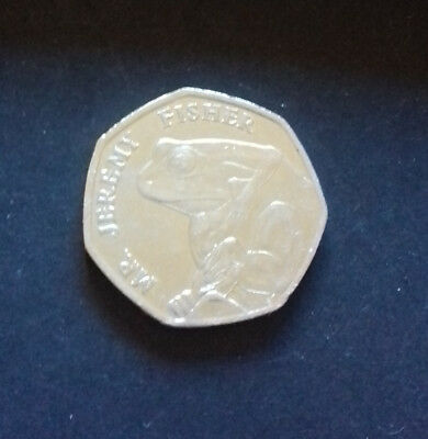 Rare & Collectable! Limited Edition 50p Fifty Pence Piece Mr. Jeremy Fisher 2017