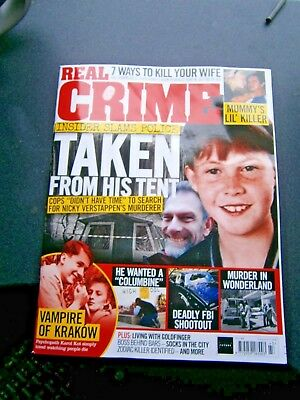 Real Crime Magazine Issue 43 (new) 2018