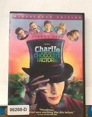 DVD Movie CHARLIE AND THE CHOCOLATE FACTORY - Johnny Depp in Original Jacket