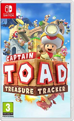 Switch-Captain Toad Teasure Tracker - Nintendo Switch (Uk Import) Game New