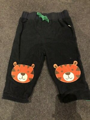 Frugi Boys Fully Lined Cord Trousers. Age 6-12 Months.