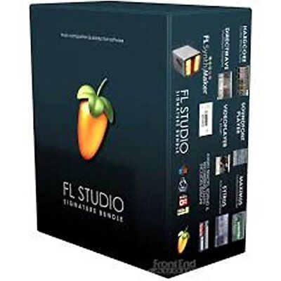 Image Line FL Studio 20 Signature Bundle PC MAC DAW FREE Updates Life -  Boxed