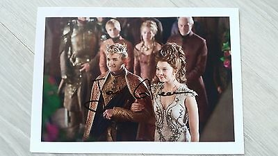 Autograph Jack Gleeson as Joffrey HAND SIGNED COA UACC 8x10 Game of Thrones