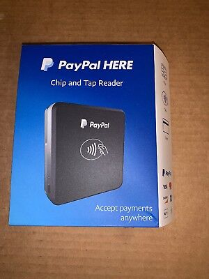 PayPal Chip and Tap Credit Card Reader PCTUSDCRT Brand New