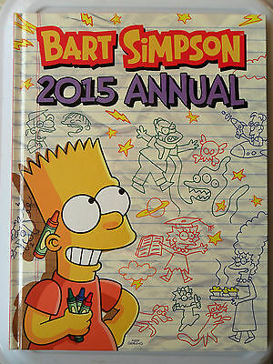 Bart Simpson Annual 2015 Homer Marge Maggie Lisa Millhouse Simpsons Treehouse