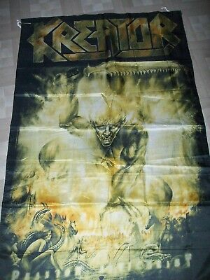 kreator flag banner x 2 savage master 5x3 ft metallica sacred reich slayer metal
