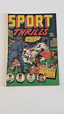 Sport Thrills #15 (G) Lb Cole Cover 1951 Star Publications