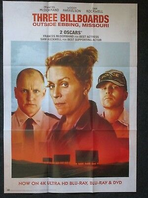 Three Billboards - Outside Ebbing Missouri - A1 Filmposter
