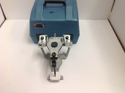 Dental Denar  fully adjustable articulator with case. Stock 5