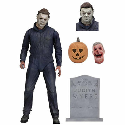Halloween (2018) ~ MICHAEL MYERS ~ 7-Inch Ultimate Action Figure by NECA  2019