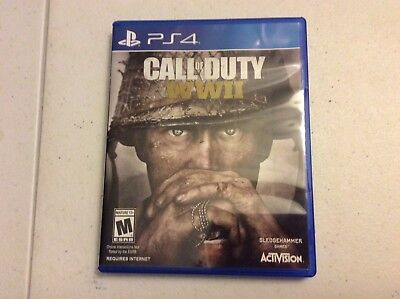 Call of Duty: WWII WW2 (Sony PlayStation 4, 2017) PS4