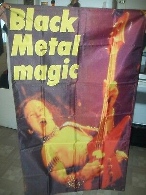 venom flag banner 5x3 ft slayer destruction warfare exodus metal