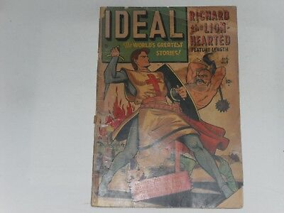 Ideal  Comics  #4  Jan 1949  Timely  Comic   Early  Gene Colan  Art     Poor