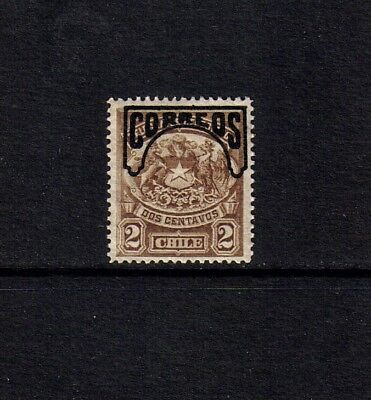 "Chile 1904 Huemul (""with mane & tail"") 2c opt ""Correos"" single value (SG 97) MNH"