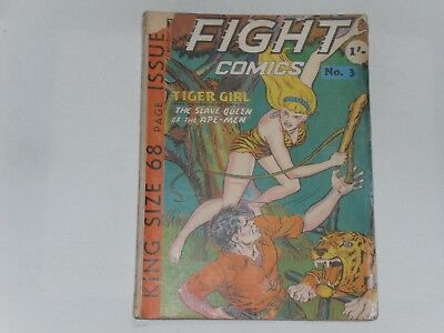 Fight Comics  #3  Uk Edition  Trent Book Co. 68 Pages  1/-    See Description