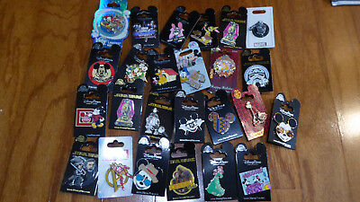 AUTHENTIC Disney Trading Pins Lot 25 No Duplicates New On Cards Q