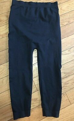 Be Maternity Black Capri Leggings Over The Belly Size L/XL