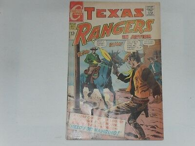Texas Rangers In Action  #68  Oct 1968   Charlton Western     Poor Condition