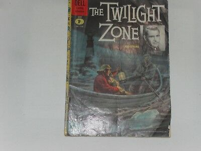 The Twilight Zone  #1173  Mar / May 1961  Dell Four Color Comic   Poor Condition