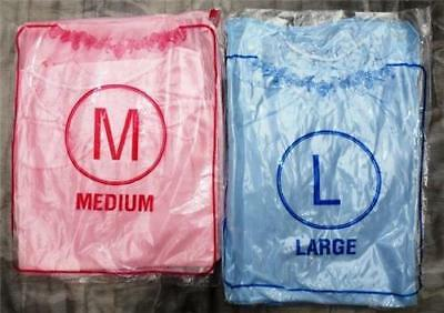 Two piece Negligee Sets, Chemise & Wrap 2 Colours Sizes Medium, Large & XL NEW
