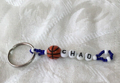 CHAD personalized men or boys keychain-NEW-hand made