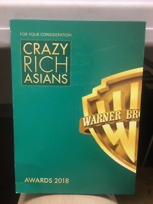 """""""Crazy Rich Asians"""" (For Your Consideration DVD Screener)"""