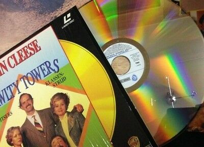 FAWLTY TOWERS Laser Disc 3 Episodes 90 Min Dutch Subtitles