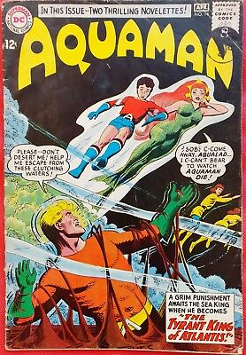 AQUAMAN 14 DC Silver Age 1964 Aquaman's Secret Powers