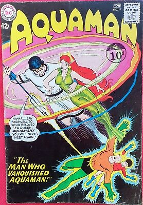 AQUAMAN 17 DC Silver Age 1964 First appearance of Proteus