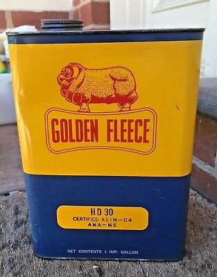 GOLDEN FLEECE OIL CAN Net Contents 1 IMP GALLON