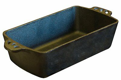 Cast iron bread pan camp chef 11 in cookware skillet seasoned outdoors camp fire