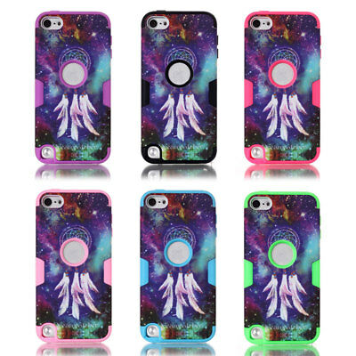 Case For Apple iPod Touch 5th Generation Shockproof Hybrid 3 In 1 Heavy Cover UK