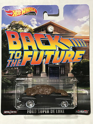 2019 Hot Wheels Entertainment Back To The Future Ford Super Deluxe