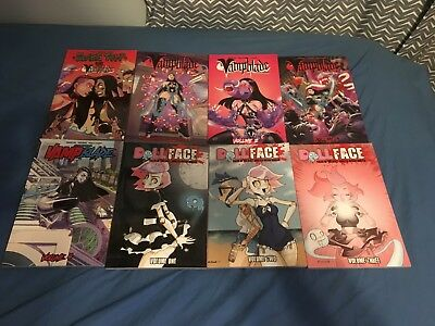 vampblade and dollface tpb lot of 8
